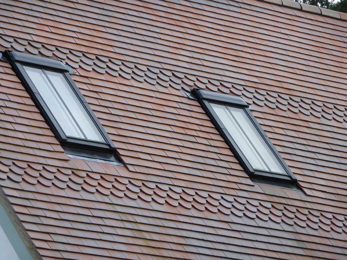 Fancy pitch roof