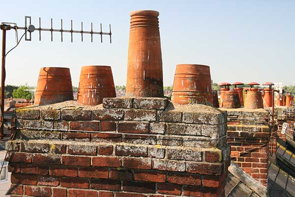 We can take down chimneys to below roof level if unused, covering over with membrane, battens and tiles.  Take down and re-build them if new brickwork trays are required, or simply renew lead flashings around them if this is the cause of leaks.  If you are undecided on what is the best solution for you we will be happy to advise, give us a call today on 01202 876004